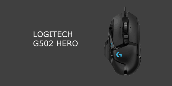Logitech G502 HERO Gamer mus anmeldese