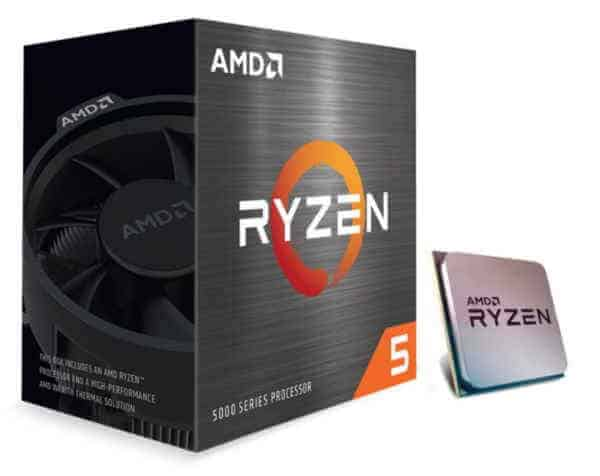 AMD Ryzen 5 5600X Wraith Stealth CPU