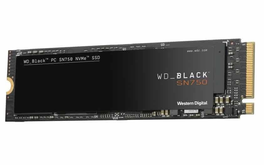 WD Black SN750 ssd hd